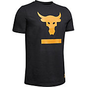 Under Armour Boys' Project Rock Above The Bar Graphic T-Shirt