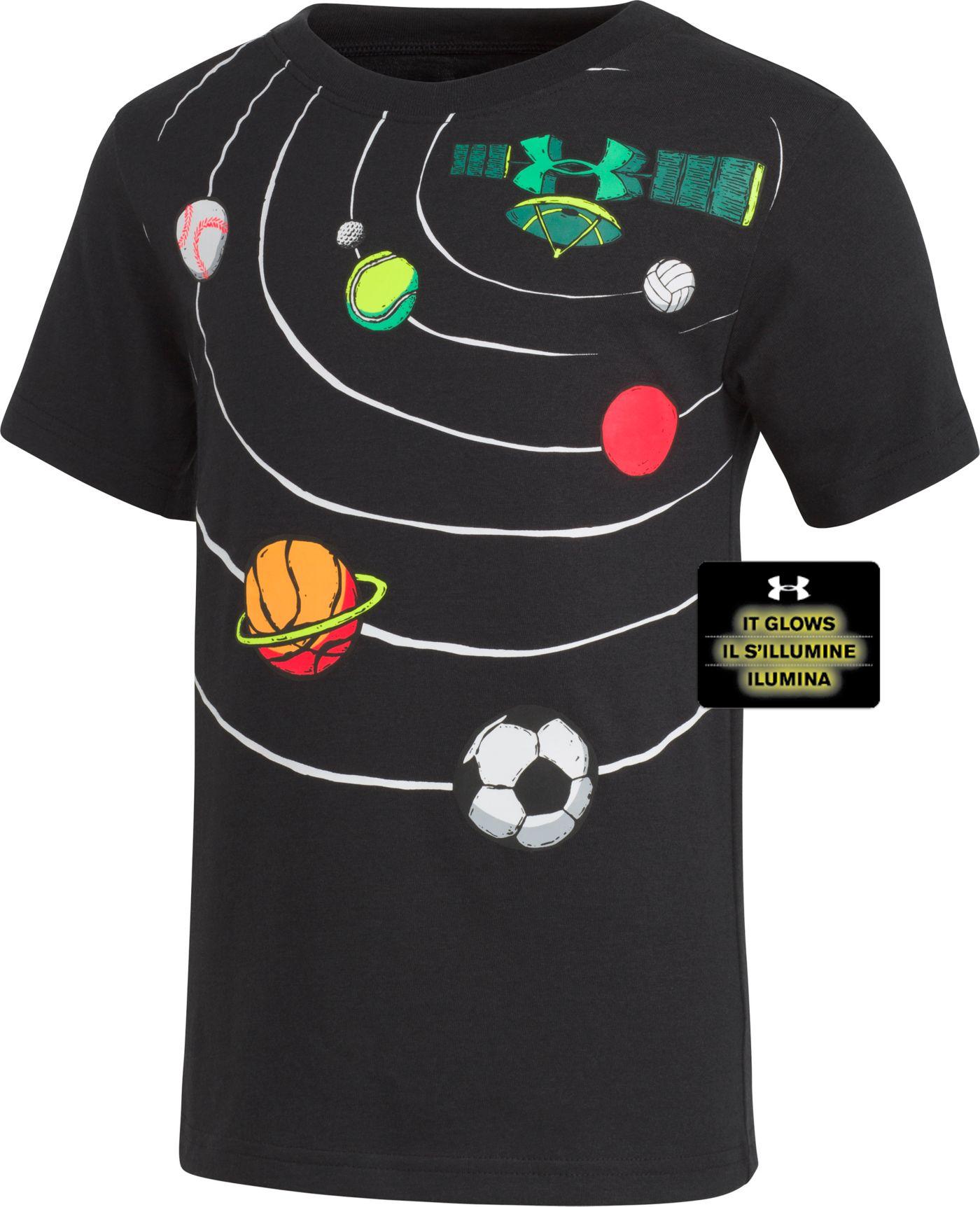 Under Armour Little Boys' Orbit Graphic T-Shirt