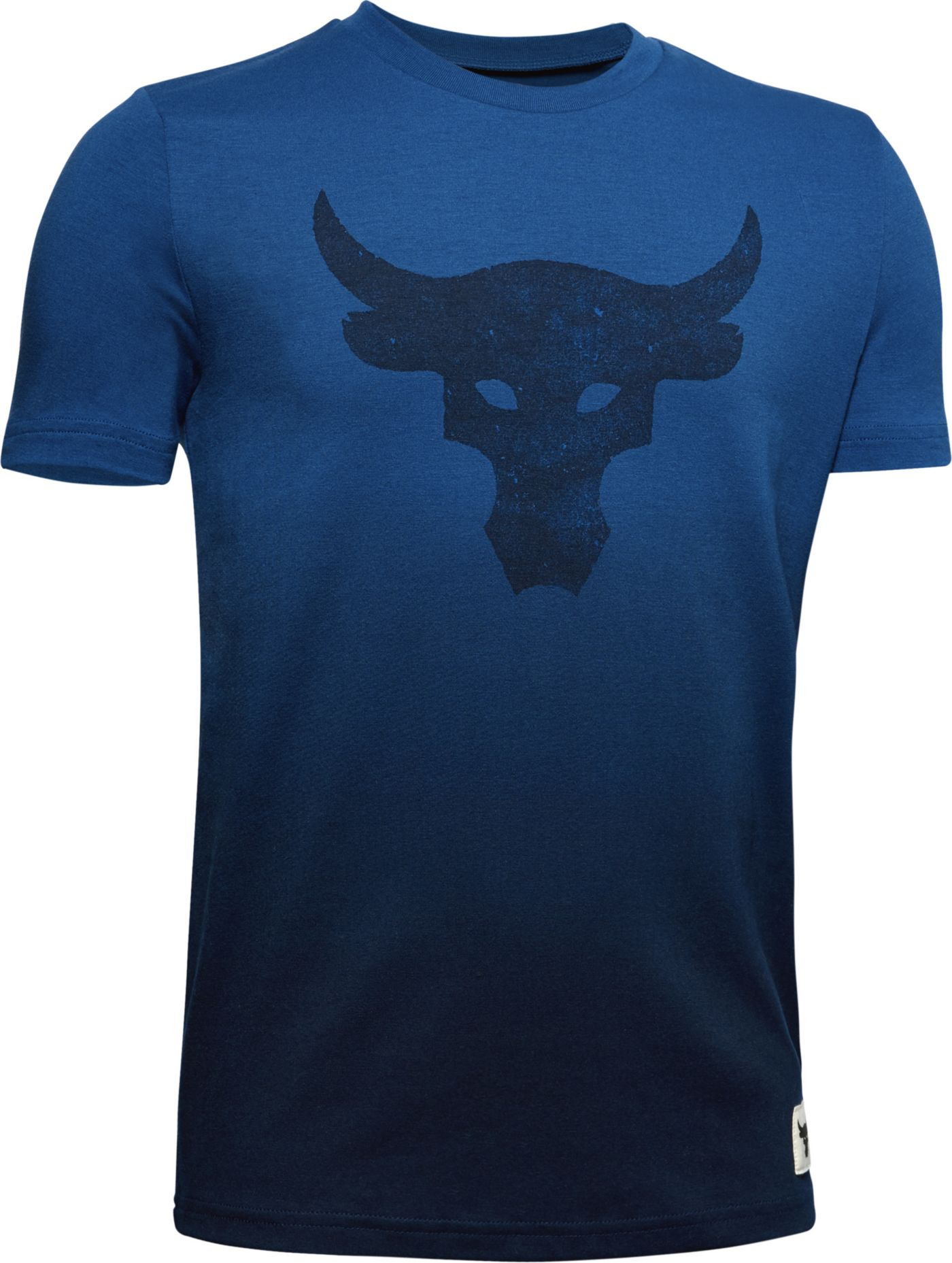 Under Armour Boys' Project Rock Brahma Bull Graphic T-Shirt