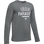 Under Armour Boys' Project Rock Iron Paradise Graphic Long Sleeve Shirt