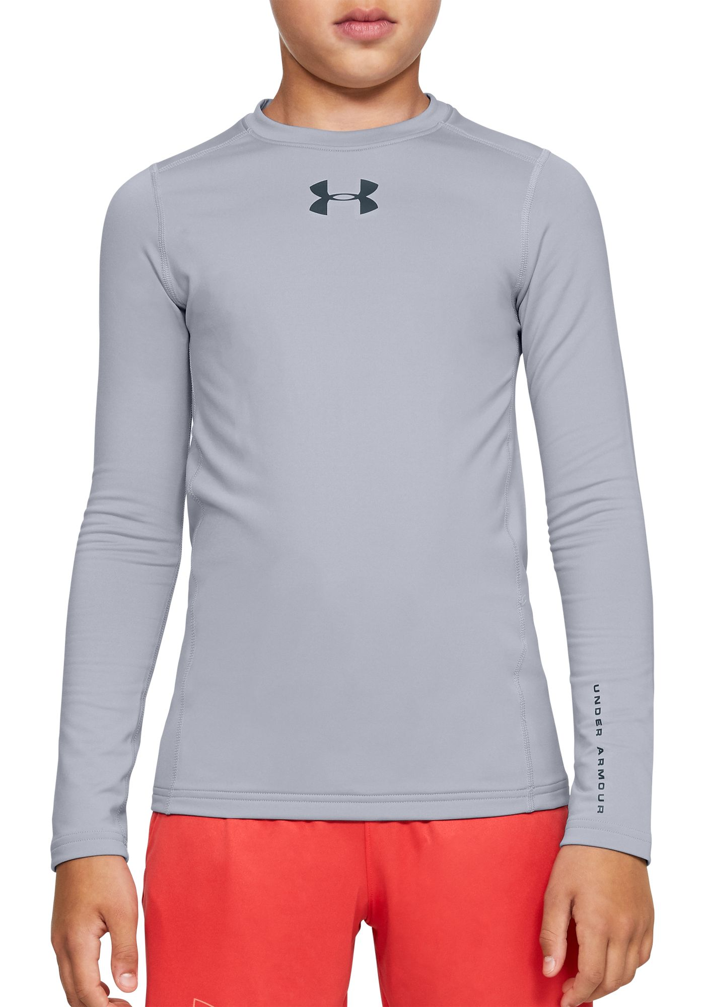 Under Armour Boy's ColdGear Armour Long Sleeve Shirt