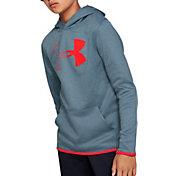 Under Armour Boy's Armour Fleece Branded Hoodie