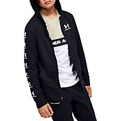 Under Armour Boy's Rival Full Zip Hoodie