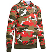 Under Armour Boy's Rival Printed Hoodie