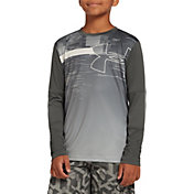 Under Armour Boy's Sun Armour Long Sleeve Shirt