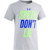 Under Armour Little Boys' Speed Don't Lie Graphic T-Shirt