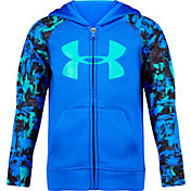 Under Armour Little Boys' Splash Big Logo Full Zip Hoodie