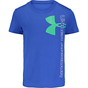 Under Armour Boys' Split Logo Short Sleeve T-Shirt