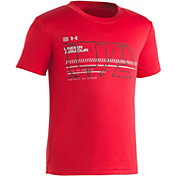 Under Armour Little Boys' Stencil Logo T-Shirt