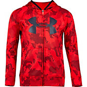 Under Armour Little Boys' Utility Camo Big Logo Full Zip Hoodie