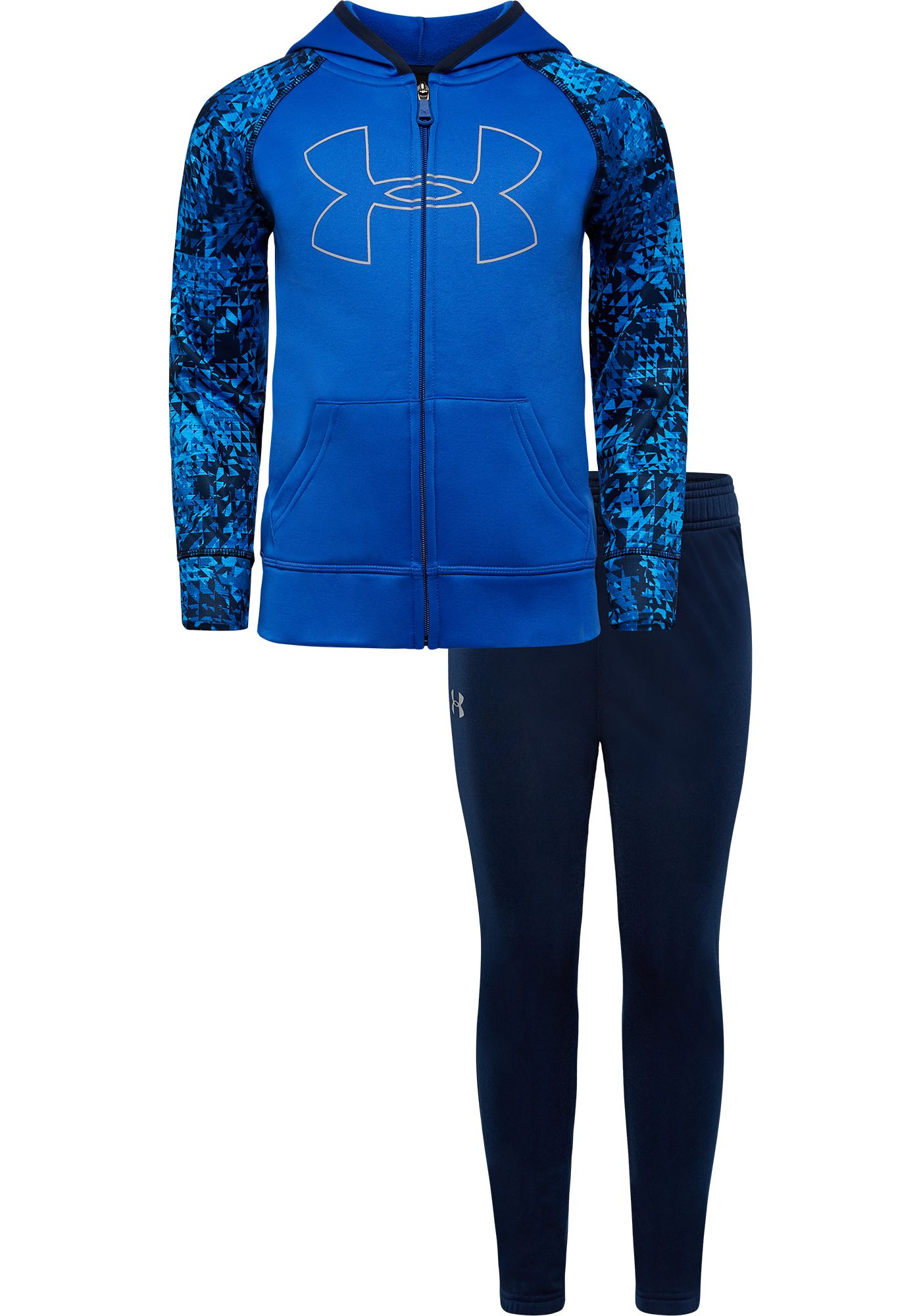 Under Armour Little Boys' Trileido Hoodie and Pants Track Set