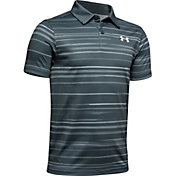 Under Armour Boys' Bunker Golf Polo