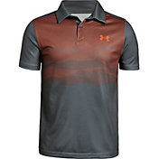 Under Armour Boys' Tour Tips Engineered Golf Polo