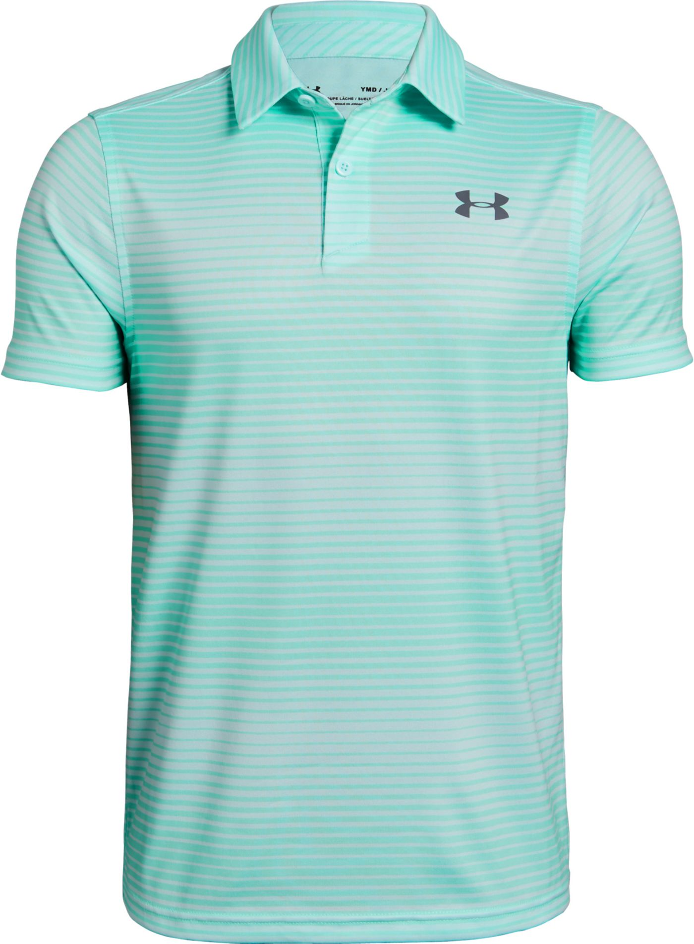 Under Armour Boys' Tour Tips Novelty Golf Polo