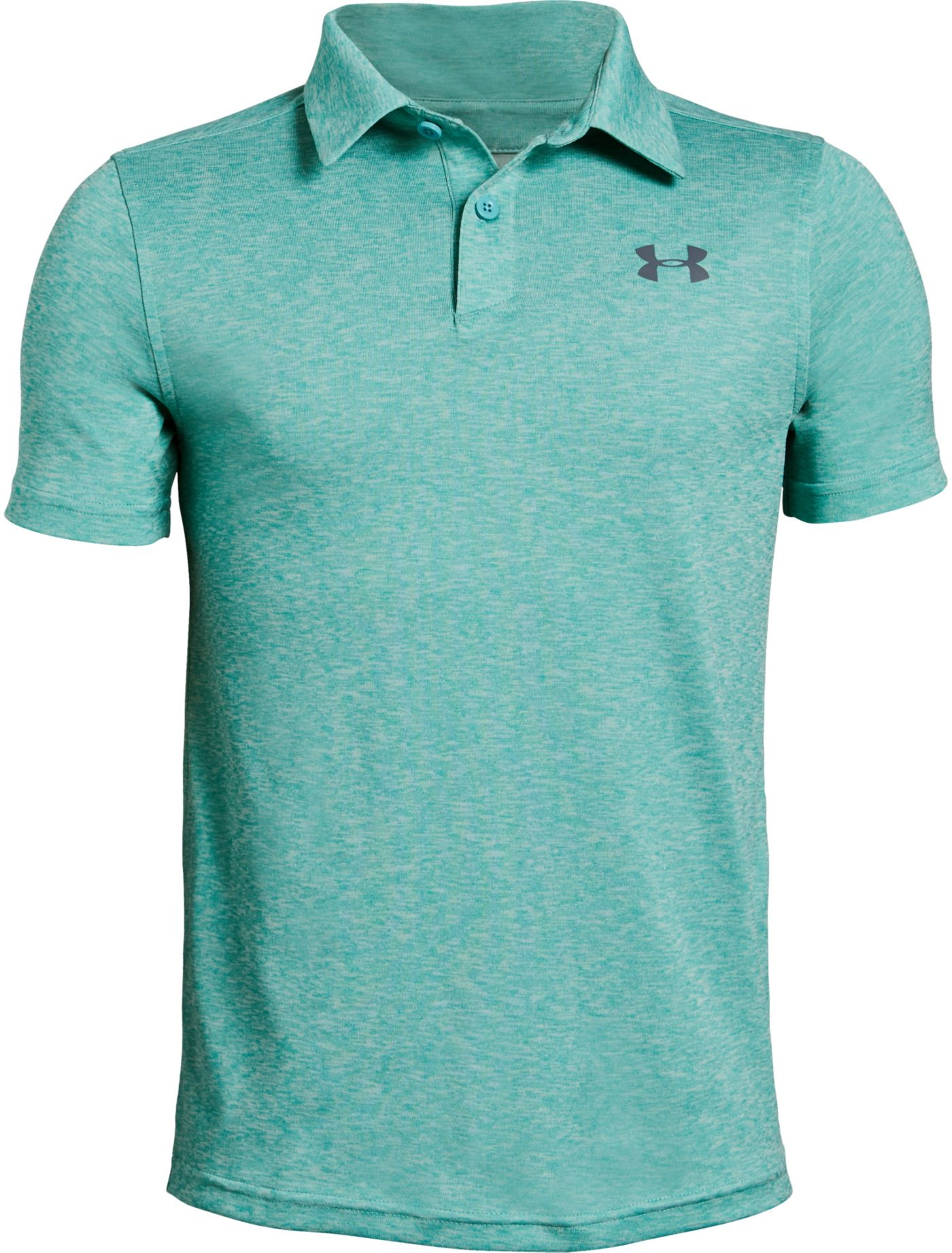 Under Armour Boys' Heather Vanish Golf Polo