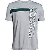 Under Armour Boys' Wordmark T-Shirt