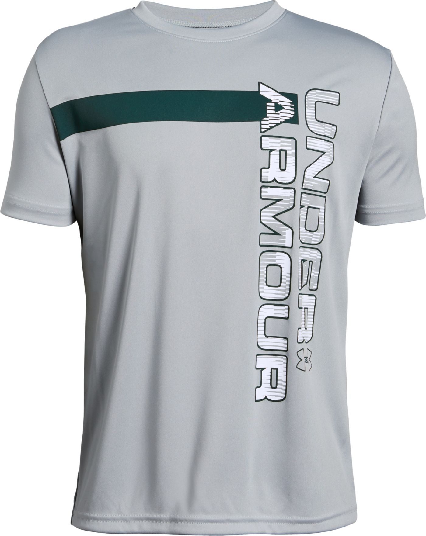 Under Armour Boys' Wordmark T-Shirt