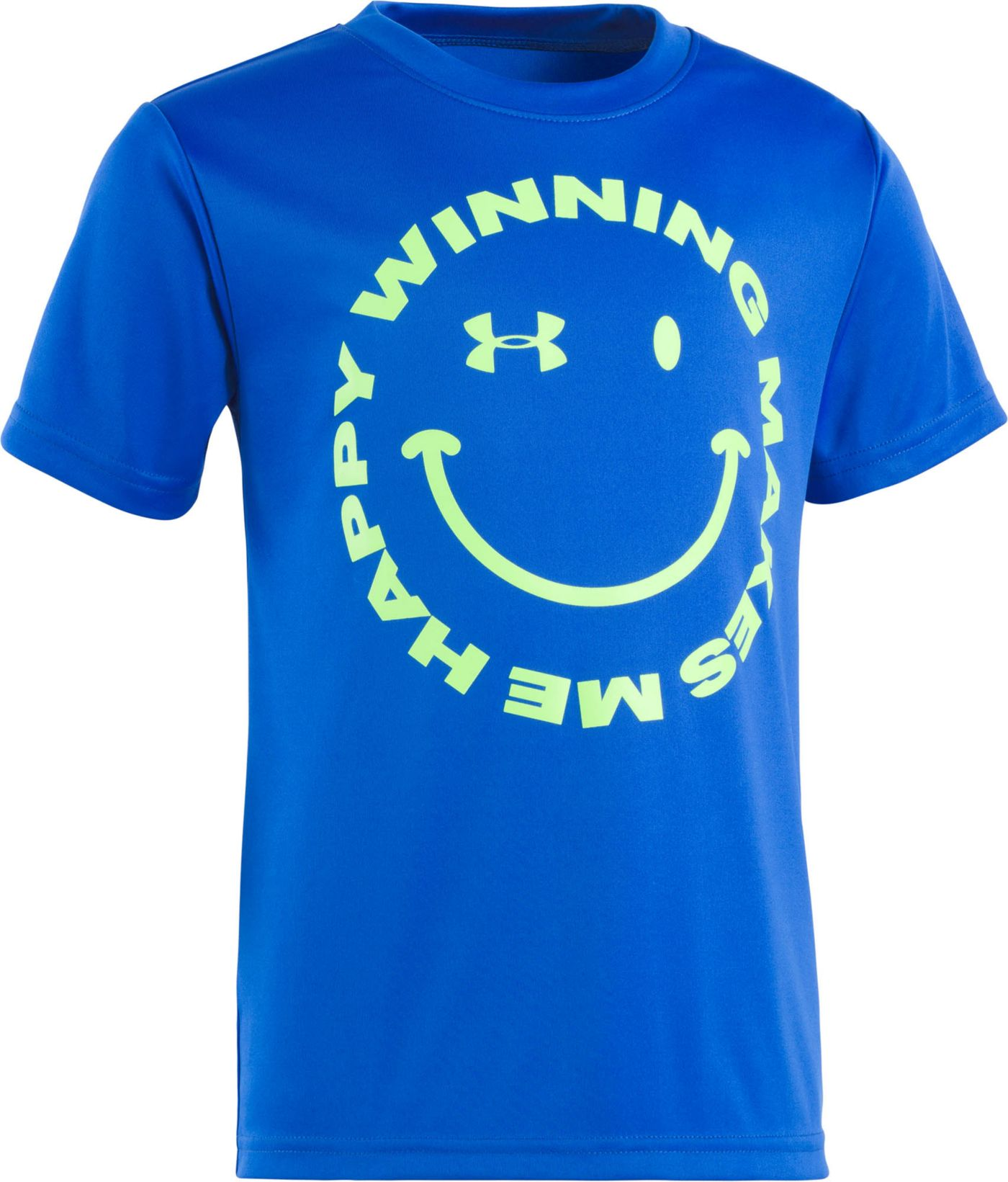 Under Armour Little Boys' Winning Makes Me Happy Graphic T-Shirt