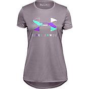 Under Armour Girls' Tech Graphic T-Shirt