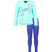 Under Armour Little Girls' Big Logo Tunic and Leggings Set