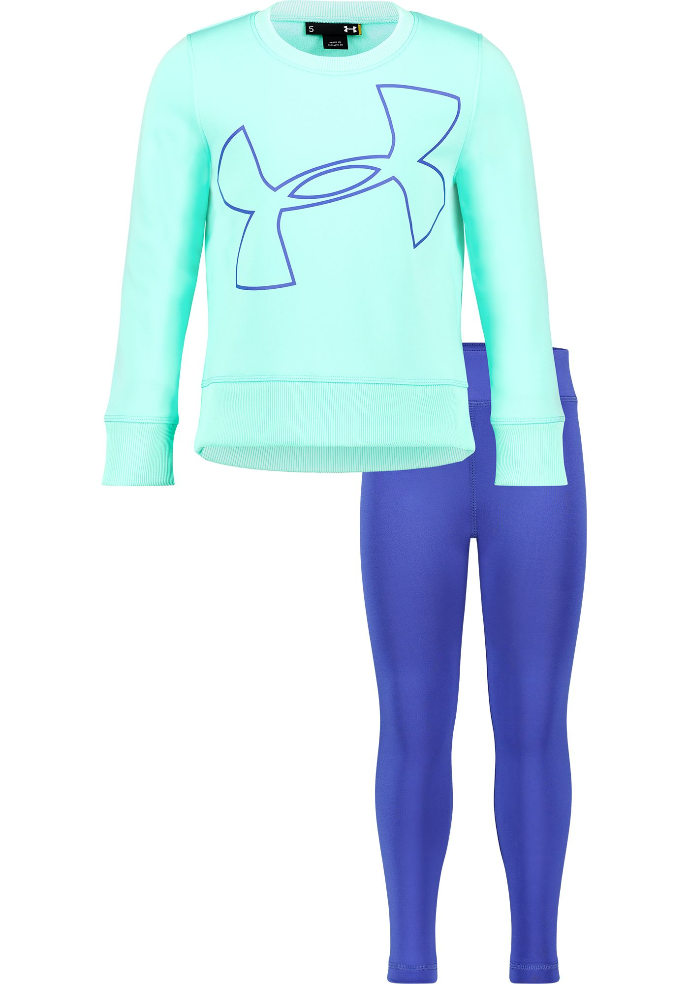 Under Armour Little Girls' Big Logo Tunic and Leggings Set