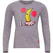 Under Armour Little Girls' Banana Split Long Sleeve Shirt