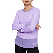 Under Armour Girl's ColdGear Long Sleeve Crew Shirt