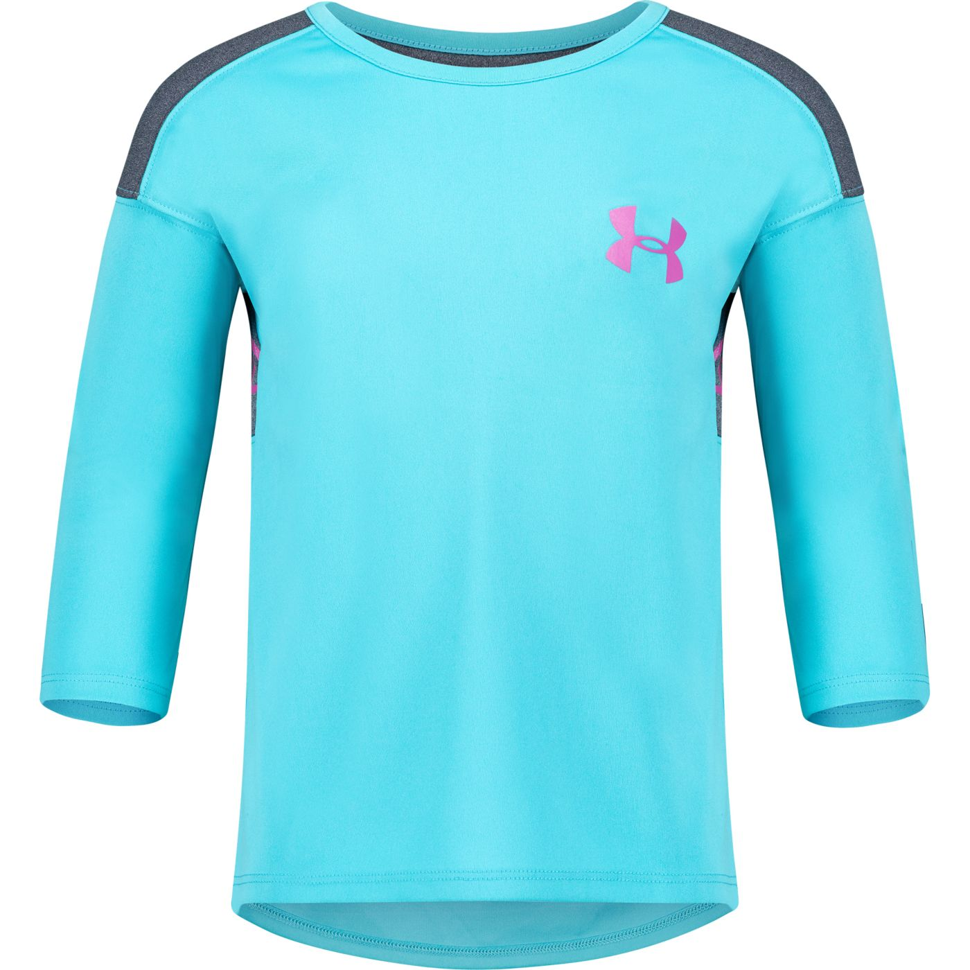 Under Armour Little Girls' Classic Varsity 3/4 Sleeve Shirt