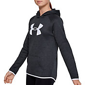 Under Armour Girl's Armour Fleece Big Logo Twist Hoodie