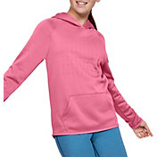 Under Armour Girl's Armour Fleece Branded Hoodie