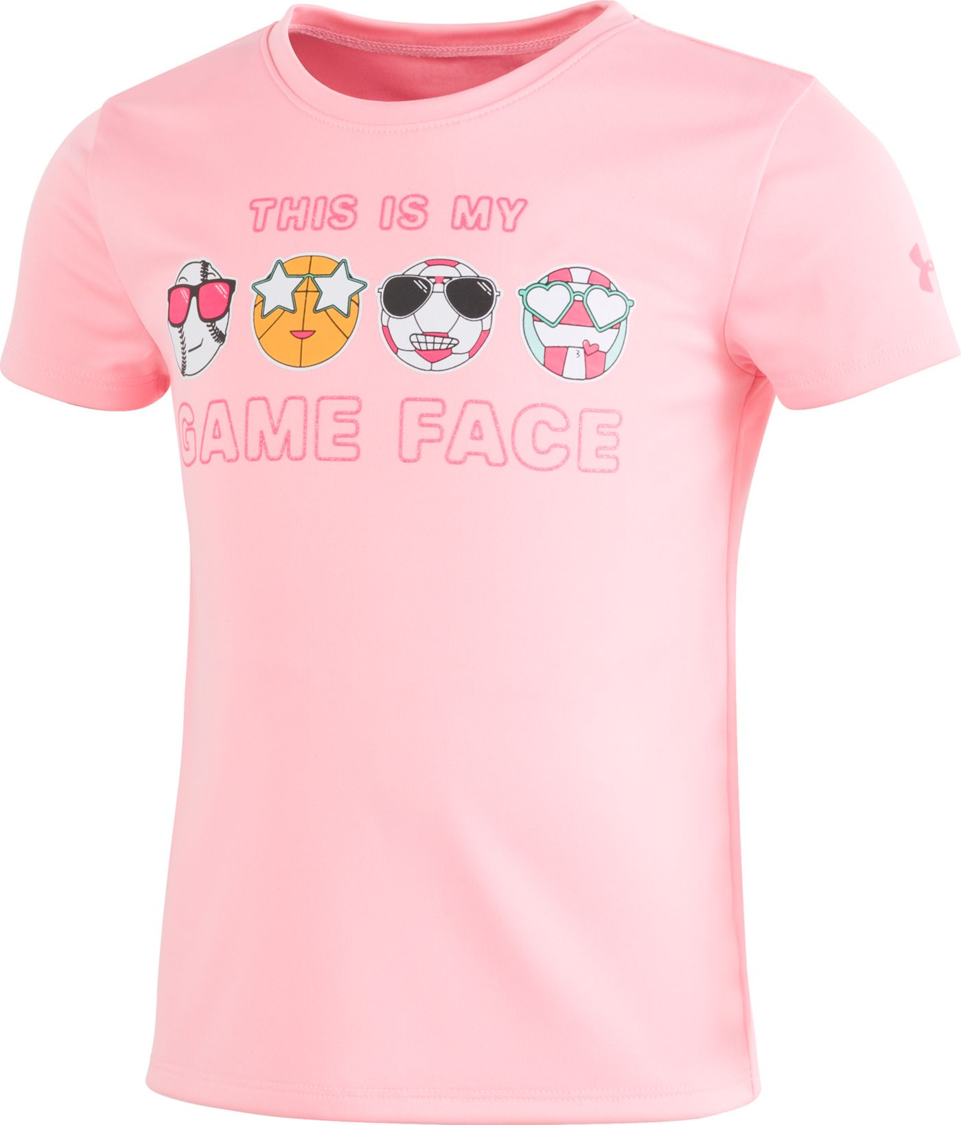 Under Armour Little Girls' Game Face Graphic T-Shirt