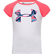 Under Armour Little Girls' Agate Big Logo Graphic T-Shirt