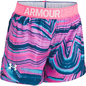 Under Armour Little Girls' Agate Swirl Play Up Shorts