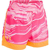 Under Armour Little Girls' Agate Swirl Sprint Shorts
