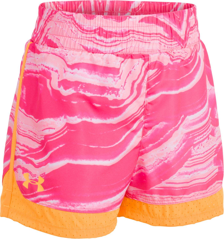 Under Armour Little Girls' Agate Swirl Sprint Shorts