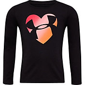 Under Armour Little Girls' Heart Long Sleeve Shirt