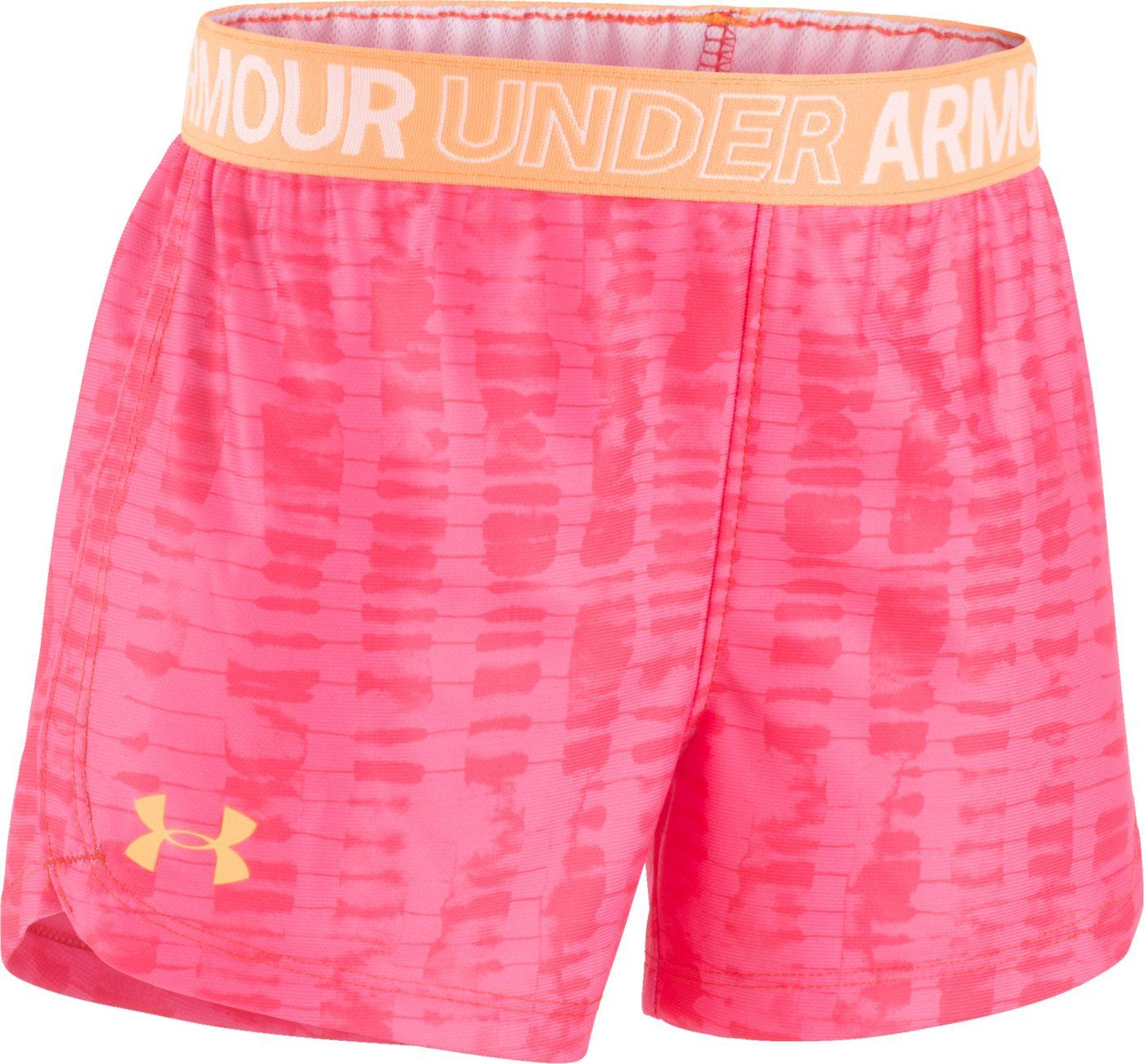 Under Armour Little Girls' Haze Play Up Shorts
