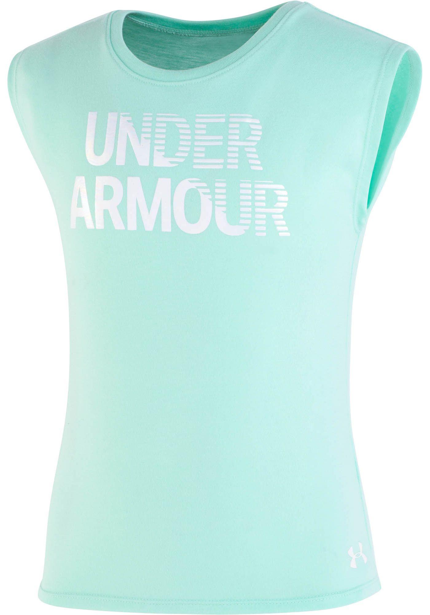 Under Armour Little Girls' Wordmark Graphic T-Shirt