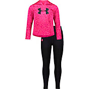 Under Armour Little Girls' Energy Charge Hoodie and Leggings Set