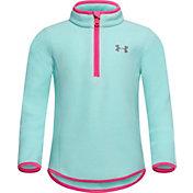 Under Armour Little Girls' Polar Fleece 1/4 Zip Long Sleeve Shirt