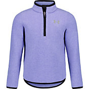 Under Armour Little Girls' Polar Fleece 1/4 Zip Long Sleeve Shirt