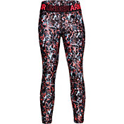 Under Armour Girls' Armour HG Printed Crop Pants
