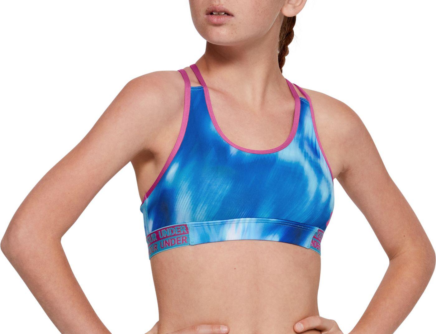 Under Armour Girl's Heatgear Armour Novelty Sports Bra