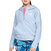 Under Armour Girl's Rival Full Zip Hoodie