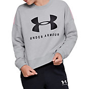 Under Armour Girl's Sportstyle Fleece Crewneck Sweatshirt