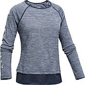 Under Armour Girl's Tech Crewneck Sweatshirt