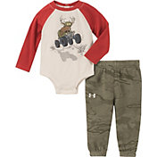 Under Armour Infant Boys' Deer Buggy Onesie and Pants Set