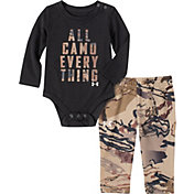 Under Armour Infant Boys' All Camo Everything Onesie and Pants Set