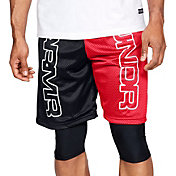 Under Armour Men's Baseline Court Basketball Shorts