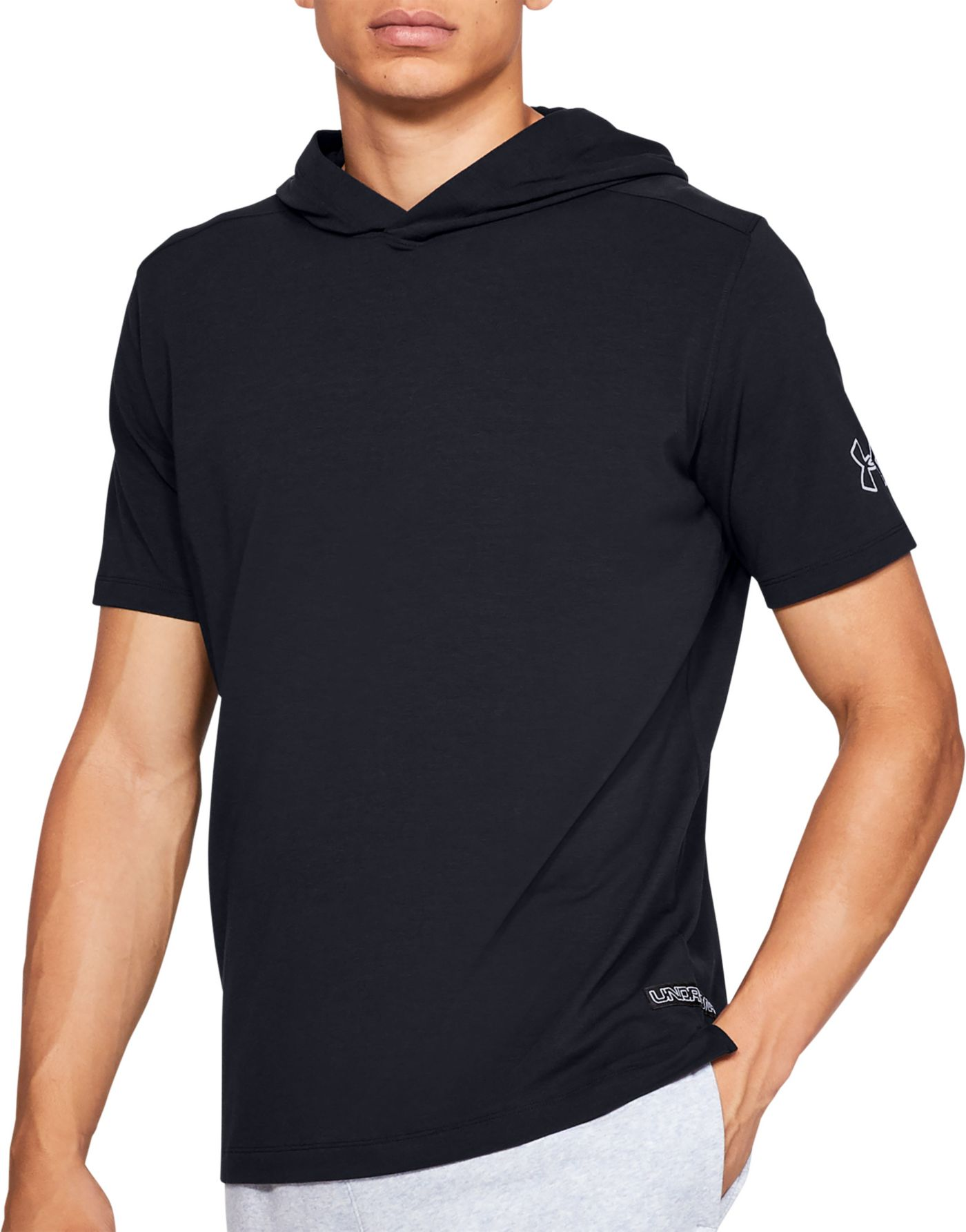Under Armour Men's Short Sleeve Hooded T-Shirt